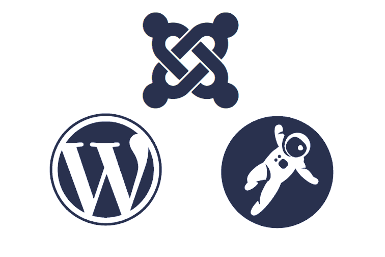 Joomla, Wordpress, Grav